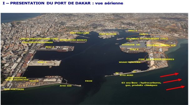 I pr sentation du port autonome de dakar - Recrutement port autonome de dakar ...