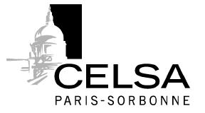 Celsa Paris Sorbonne