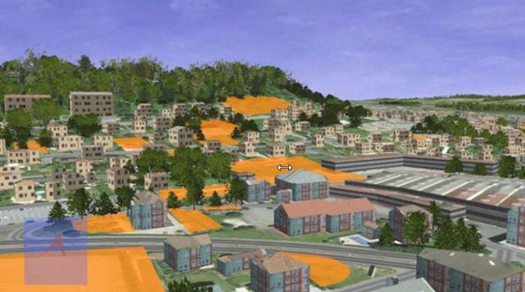 1 2 la 3d une technologie au service de l urbanisme durable for Logiciel 3d piscine