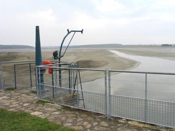 Mise en assec et dispositif de pêche