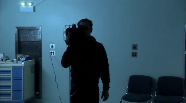 C2 Diary of the Dead vision de la caméra 2 et « reflet » de la caméra 1