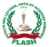 Faculté des Lettres, Arts et Sciences Humaines, Université d'Abomey-Calavi (UAC)