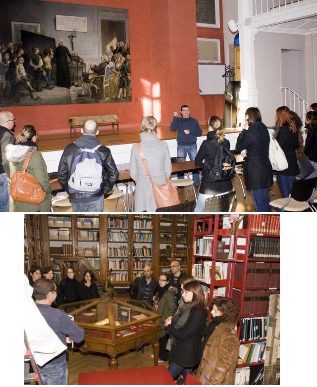 Photographies de visites à l'Institut des Jeunes Sourds de Paris