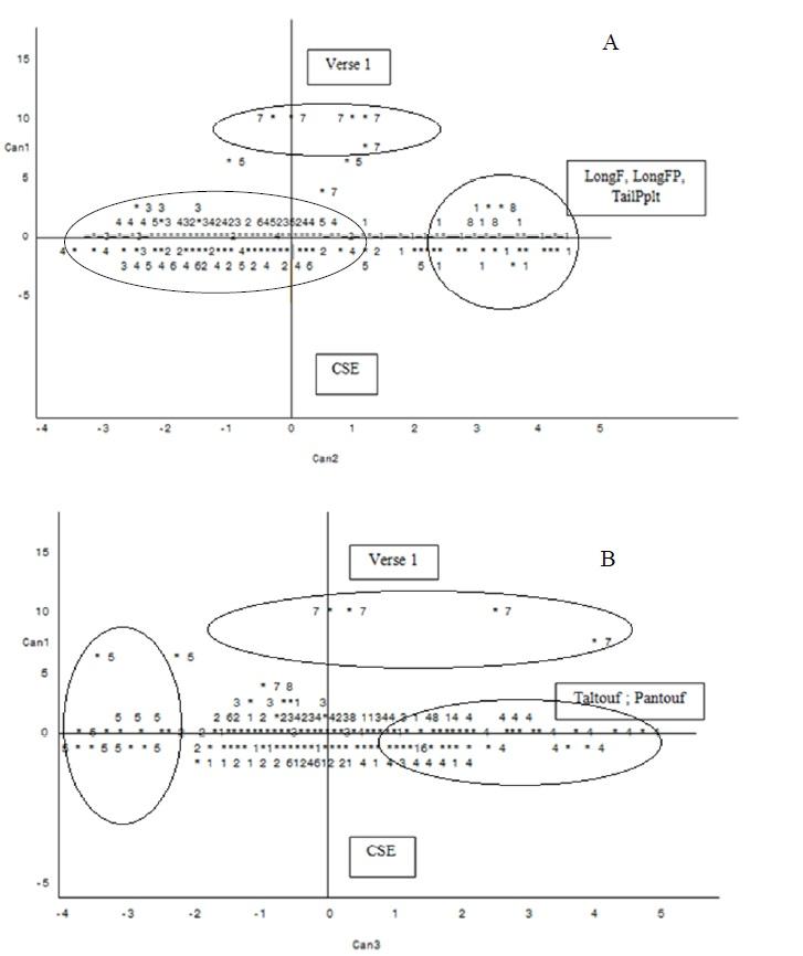 Figure 10 CARACTERISATION AGRO-MORPHOLOGIQUE DES ÉCOTYPES DE RIZ (Oryza spp.) DU BENIN