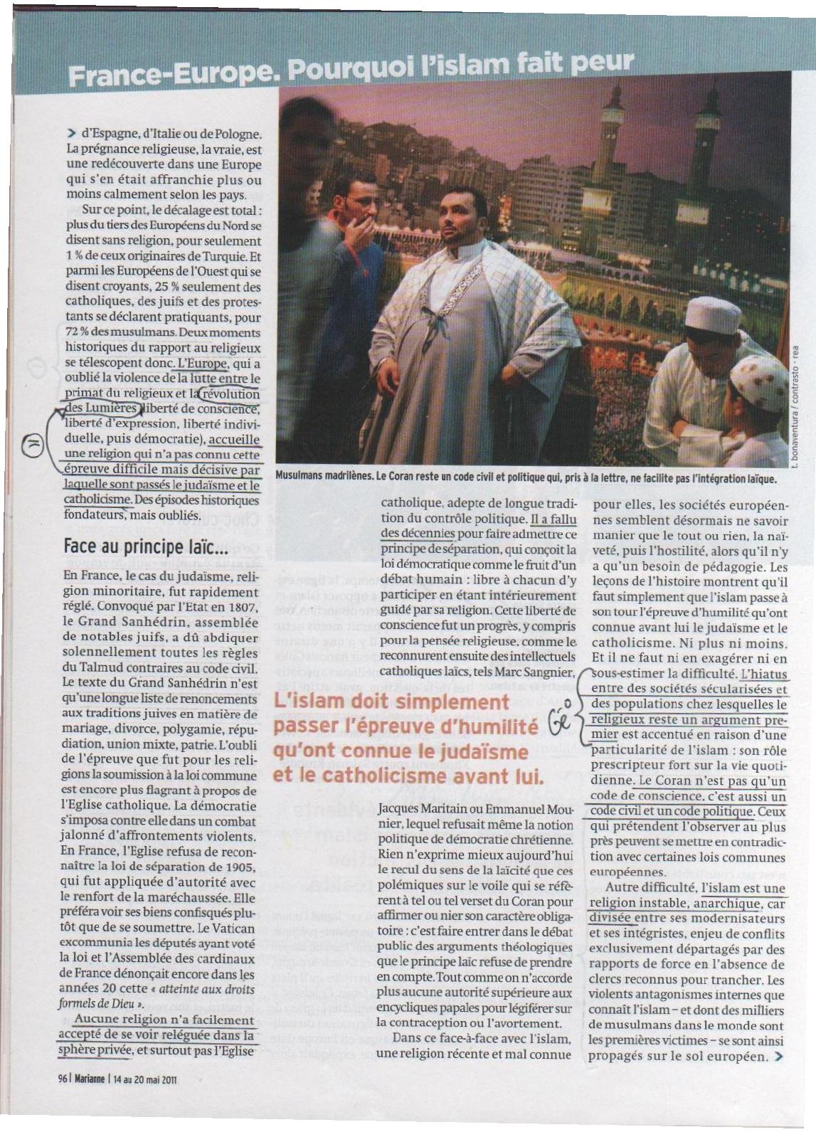 Annexe 4 Les médias, vecteurs d'une image négative et stéréotypée des musulmans mythe ou réalité 4