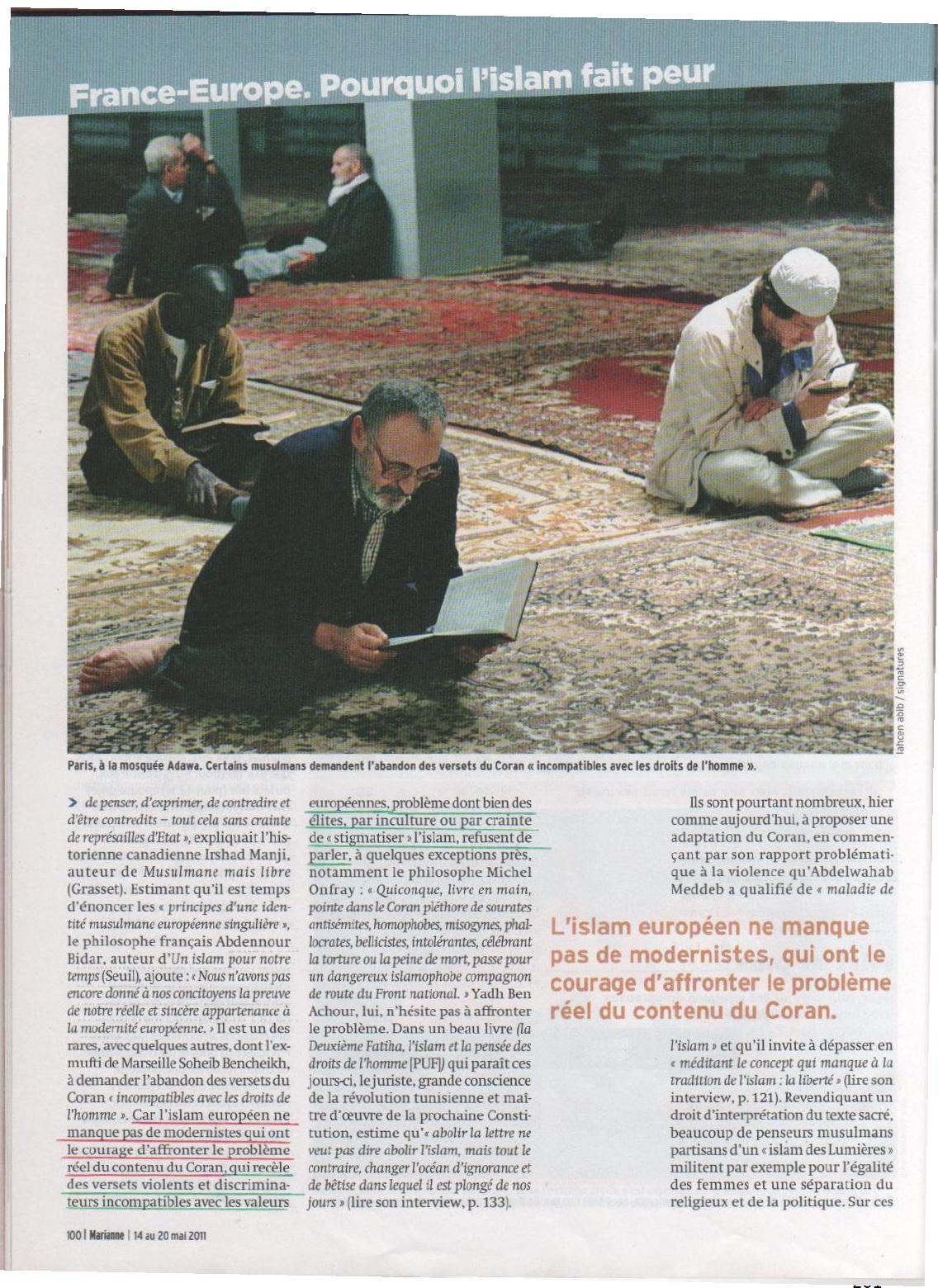 Annexe 4 Les médias, vecteurs d'une image négative et stéréotypée des musulmans mythe ou réalité 8