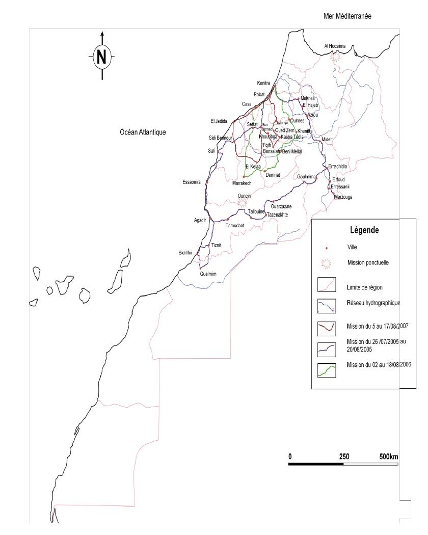 Annexe 5 Scorpionisme, Epidémiologie et Facteurs de Risque au Maroc  cas de la province de Khouribga