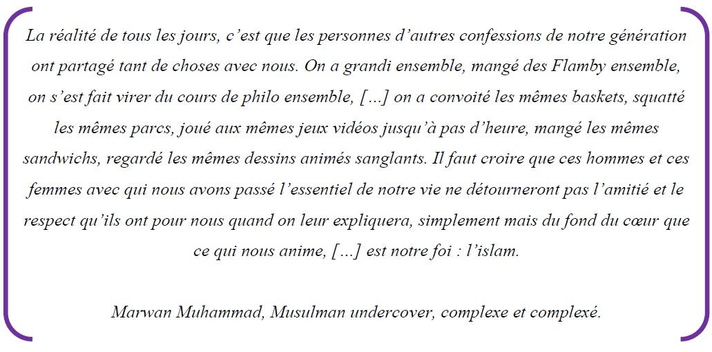 Citation 3 Les médias, vecteurs d'une image négative et stéréotypée des musulmans mythe ou réalité