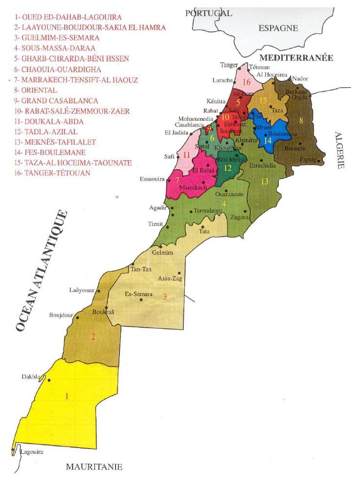 Figure' 1 Scorpionisme, Epidémiologie et Facteurs de Risque au Maroc  cas de la province de Khouribga