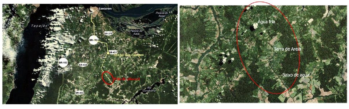 Figure 11 Le développement territorial en Amazonie Brésilienne  Les défis de la mise en oeuvre d'une gouvernance et de stratégies de développement dans le territoire Baixo Amazonas de l'État du Pará