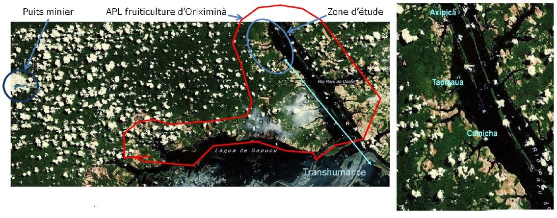 Figure 19 Le développement territorial en Amazonie Brésilienne  Les défis de la mise en oeuvre d'une gouvernance et de stratégies de développement dans le territoire Baixo Amazonas de l'État du Pará