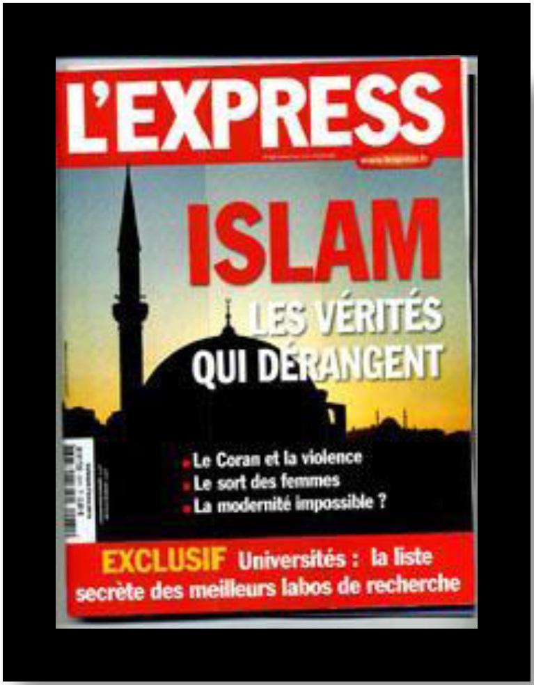 Figure 19 Les médias, vecteurs d'une image négative et stéréotypée des musulmans mythe ou réalité
