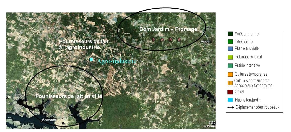 Figure 22 Le développement territorial en Amazonie Brésilienne  Les défis de la mise en oeuvre d'une gouvernance et de stratégies de développement dans le territoire Baixo Amazonas de l'État du Pará