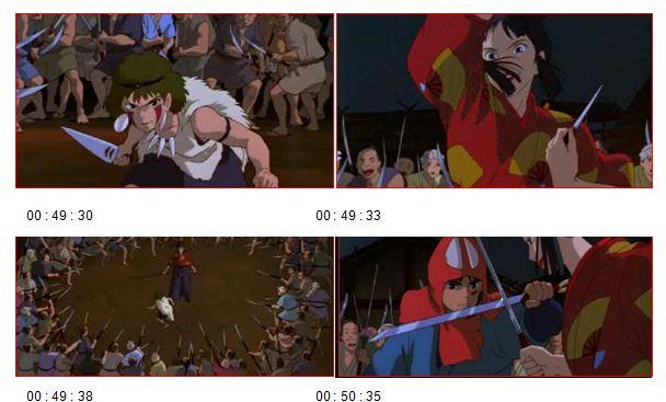 Figure 25' L'IMAGE DE LA FEMME JAPONAISE DANS LE CINEMA D'HAYAO MIYAZAKI
