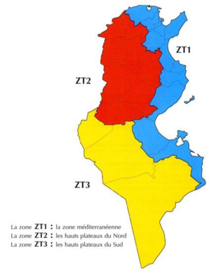 Figure 26 L'adaptation aux conditions climatiques extrêmes en Tunisie Cas des fortes chaleurs