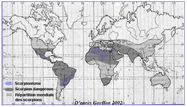 Figure 29 Scorpionisme, Epidémiologie et Facteurs de Risque au Maroc  cas de la province de Khouribga