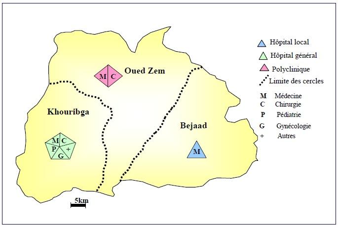 Figure 50 Scorpionisme, Epidémiologie et Facteurs de Risque au Maroc  cas de la province de Khouribga