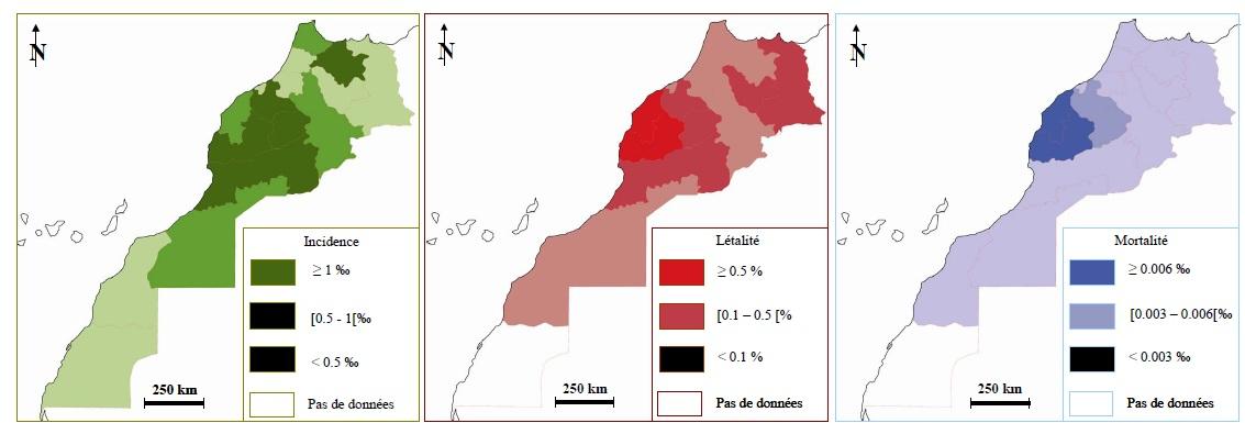 Figure 87''' Scorpionisme, Epidémiologie et Facteurs de Risque au Maroc  cas de la province de Khouribga