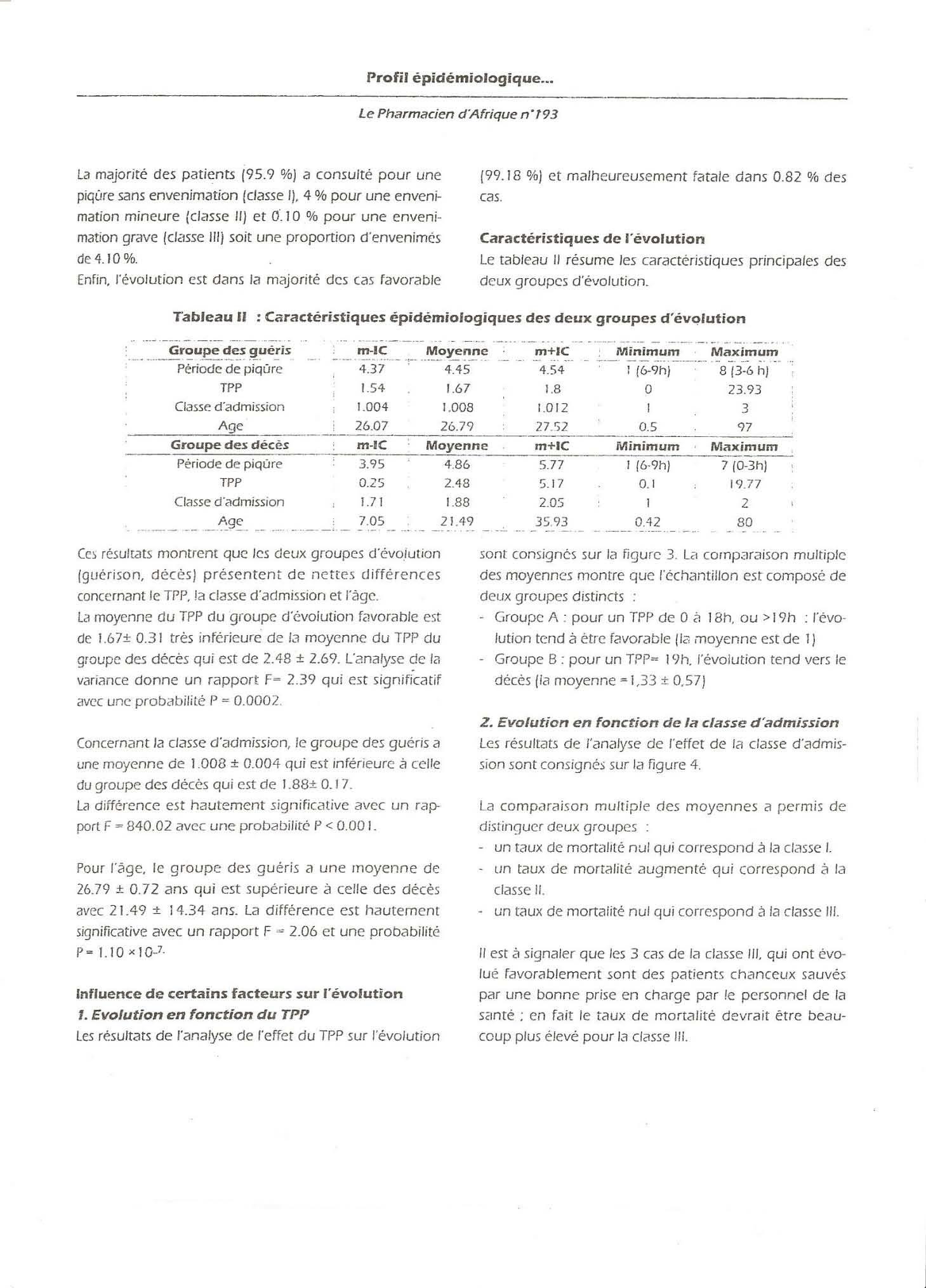 Page' 5 Scorpionisme, Epidémiologie et Facteurs de Risque au Maroc  cas de la province de Khouribga