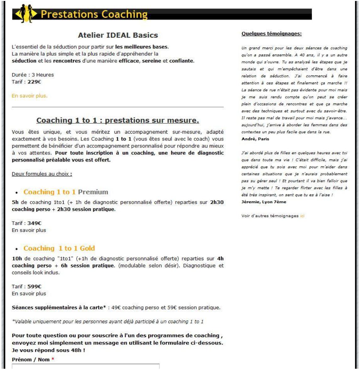 Annexe 4 ENJEUX ET MOYENS DE LA CREATION D'UNE ENTREPRISE INDIVIDUELLE 5