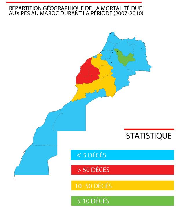 Figure 11 Les envenimations scorpioniques au Maroc