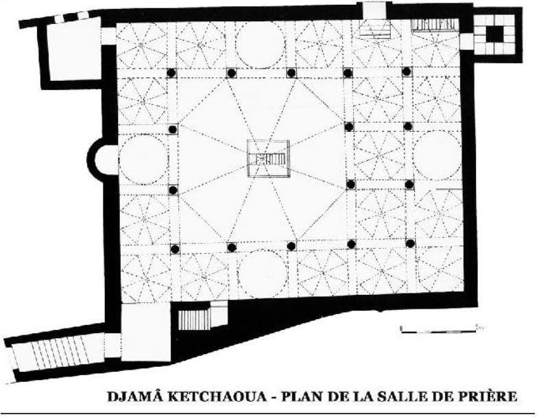 Figure 3 CONVERSION DES LIEUX DE CULTE A ALGER DU XVIIIEME AU XXEME SIECLE  CAS DE LA MOSQUEE CATHEDRALE KETCHAOUA