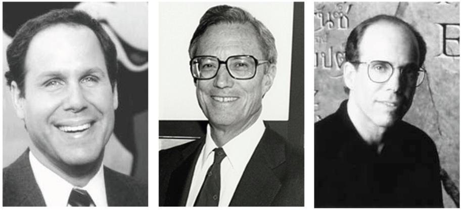 Illustration 1 De gauche à droite, Michael Eisner, Frank Wells et Jeffrey Katzenberg