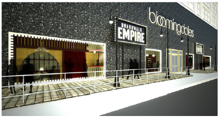 Illustration 2 Façade du magasin Bloomingdales's de New York pour la saison 1 de Boardwalk Empire.
