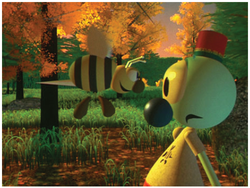 Illustration 2 Les Aventures d'André & Wally B, premier court métrage d'animation 3D