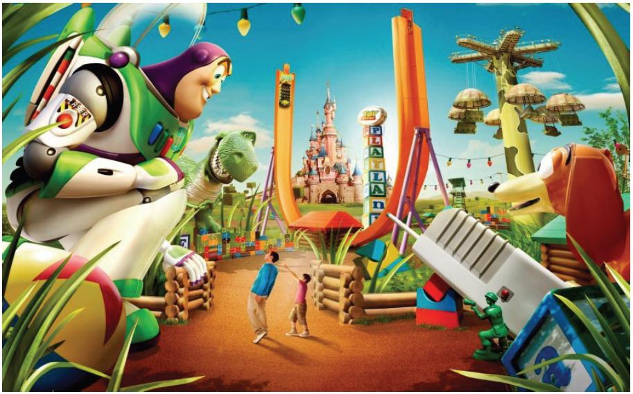 Illustration 20 Toy Story Playland, parc entièrement dédié à Pixar