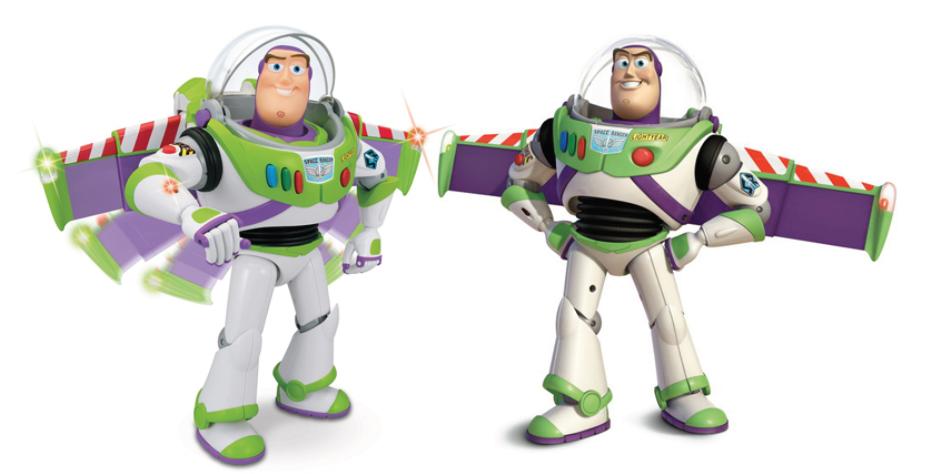 Illustration 22 le jouet et le personnage du film sont exactement les mêmes