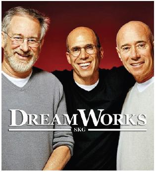 Illustration 3 Les trois fondateurs de DreamWorks SKG