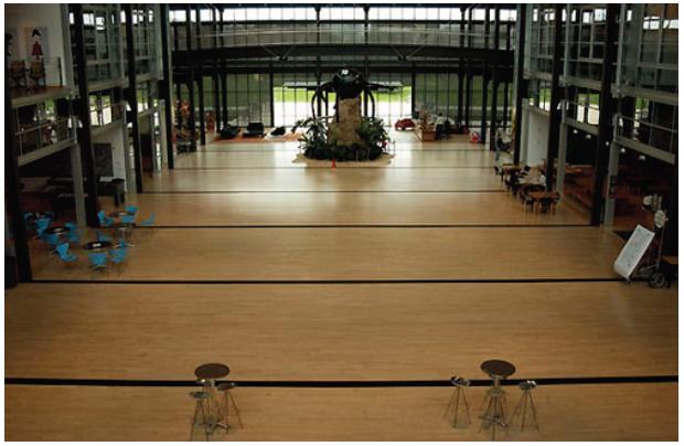 Illustration 4 L'atrium central des studios Pixar, le lieu de toutes les rencontres