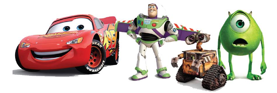 Illustration 7 Une voiture parlante, un jouet vivant, un robot sentimental et un monstre gentil