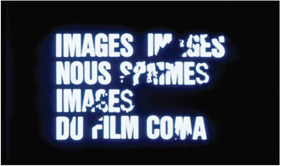« L'affaire des divisions Morituri » de FJ Ossang (1984)