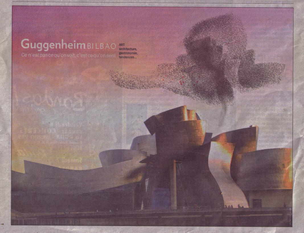 Campagne de publicité du Guggenheim