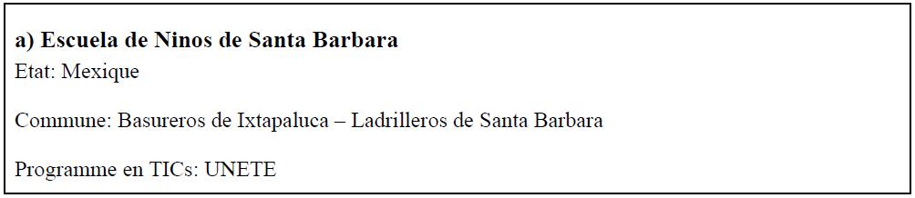 Escuela de Ninos de Santa Barbara