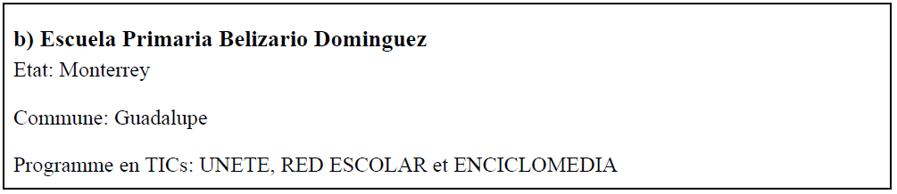 Escuela primaria Belizario Dominguez