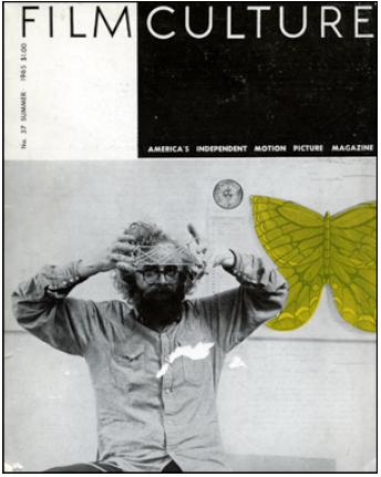 Exemple de couverture d'un des magazines de Jonas Mekas