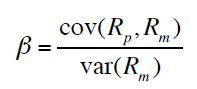 coefficient de régression à des facteurs de risque