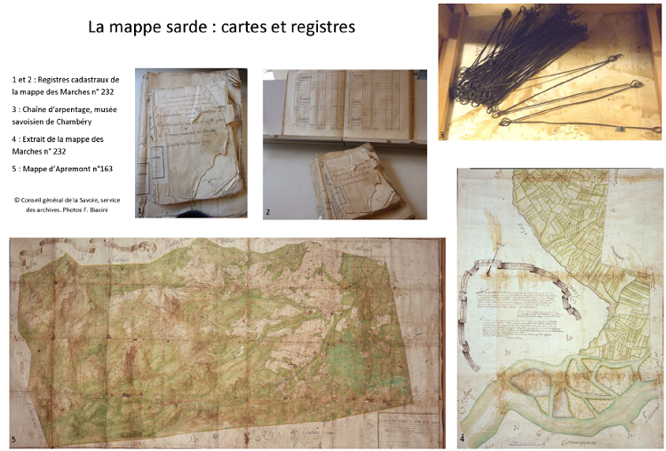 La mappe sarde