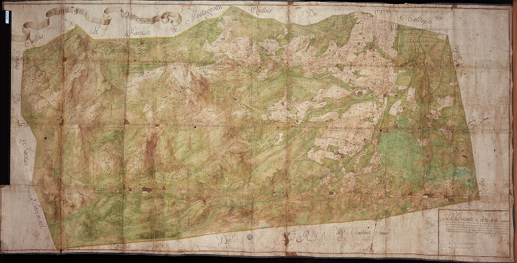 Mappe 163 Apremont, 1732