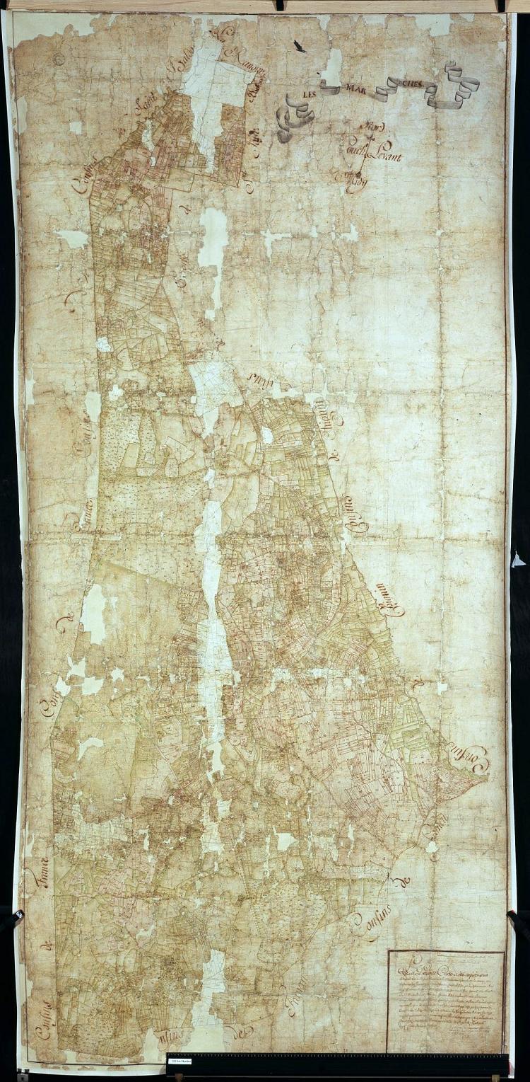 Mappe 232 Les Marches, 1732