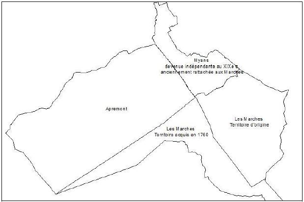 Principales évolutions frontalières