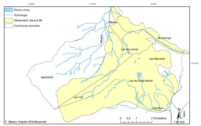 Réseau hydrographique actuel