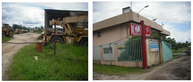 Installations industrielle et hôtelière à Youpwe