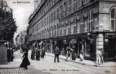La rue de la Mairie