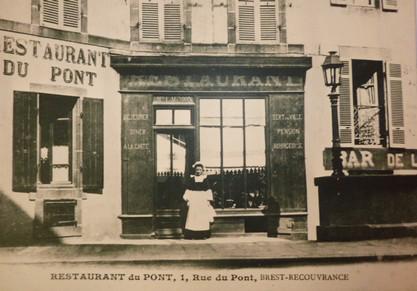 Restaurant du pont, 1 rue du pont