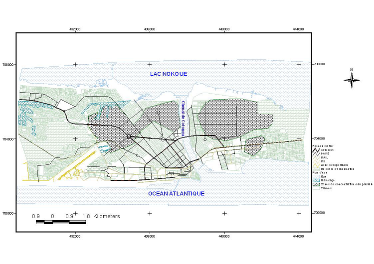 Hydrographie de la Ville de Cotonou