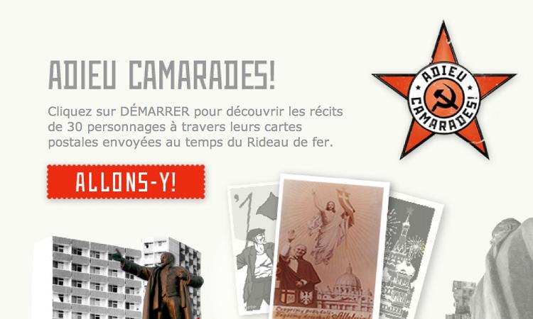 Adieu Camarades !, injonction à cliquer